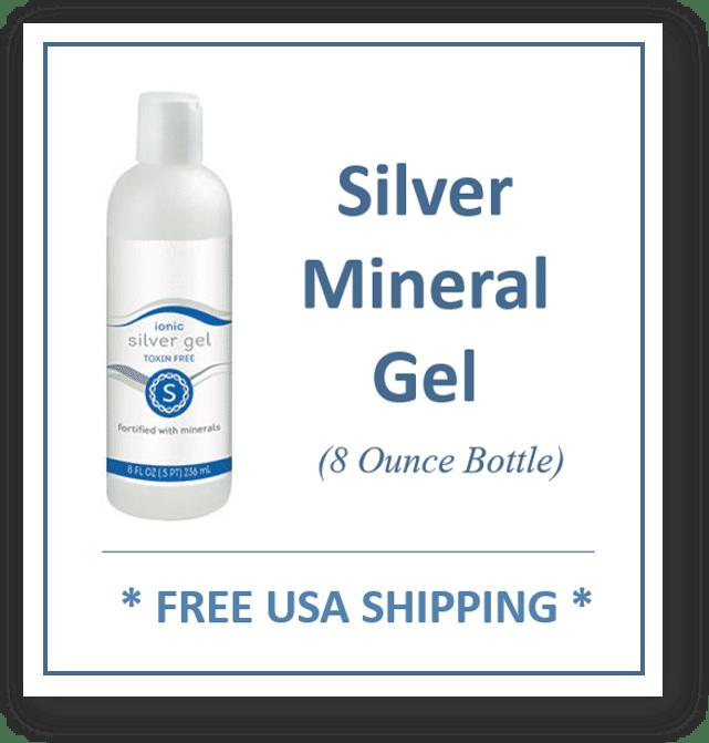 Silver Mineral Gel 8 oz. Bottle